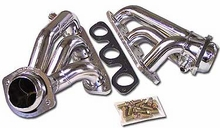 BBK Chrome Shorty Headers (99-04 V6)