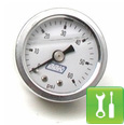 BBK Liquid-Filled Fuel Pressure Gauge (86-93) - Installation Instructions