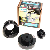 BBK Underdrive Pulleys - Steel (79-93 5.0L)
