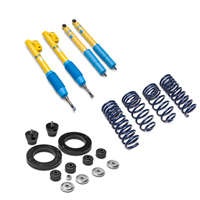 Bilstein B-12 BTS Series Tuned Suspension Kit - Coupe (94-04 GT, V6, Mach 1; 94-98 Cobra)