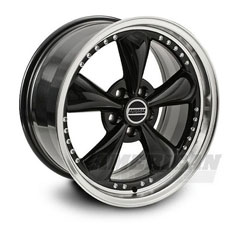 Black Bullitt Motorsport Wheels (10-14)