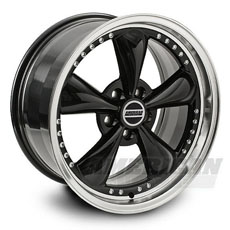 Black Bullitt Motorsport Wheels (94-98)