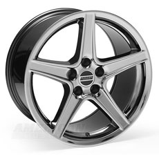 Black Chrome Saleen Style Wheels (94-98)