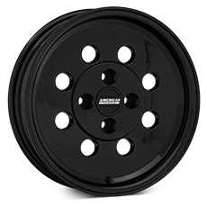 Black Classic Drag Wheels (1979-1993)