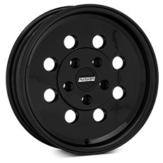 Black Classic Drag Wheels (1999-2004)