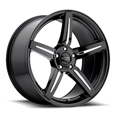 Black Foose Enforcer Wheels (2010-2014)