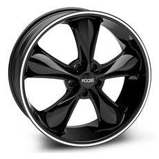 Black Foose Legend Wheels (05-09)