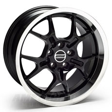 Black GT4 Wheels (05-09)