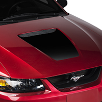 Black Hood Decal (99-04 GT & 99-02 V6)