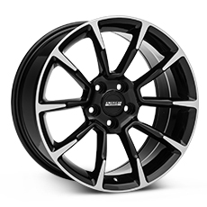 Black Machined GT/CS Style Wheels (2005-2009)