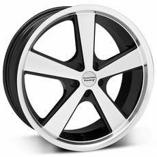 Black Machined Nova Wheels (10-14)