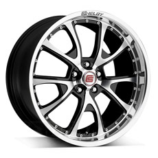 Black Machined Shelby CS40 Wheels (2005-2009)
