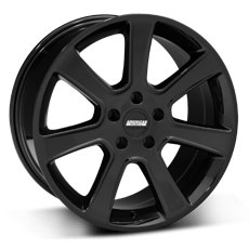 Black S197 Saleen Style Wheels (2005-2009)