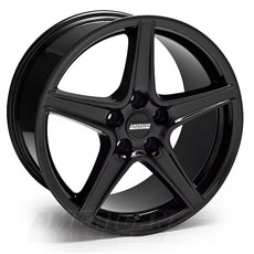 Black Saleen Style Wheels (05-09)