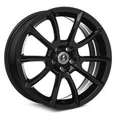 Black Shelby Alcoa Style Wheels (2010-2014)