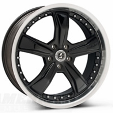 Black Shelby Razor Wheels (2010-2014)
