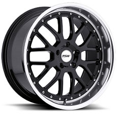 Black TSW Valencia Wheels (2010-2014)