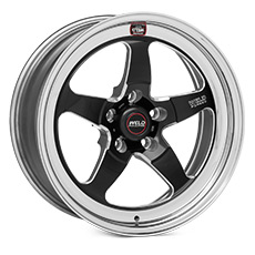Black Weld Racing RT-S S71 Wheels (2005-2009)