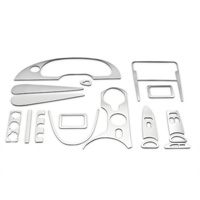 Brushed Aluminum Dash Overlay Kit (01-04 All)