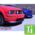 CDC Classic Chin Spoiler - 2005-2009 Mustang GT - Installation Instructions