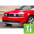 CDC Mustang Chin Spoiler (2010-2011 GT) - Unpainted - Installation Instructions