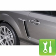 Cervini's C-Series Lower Side Scoops ('05-'09) - Unpainted - Installation Instructions