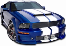 Cervini's Functional Ram Air Kit for Ram Air Hood (05-09 GT, V6)