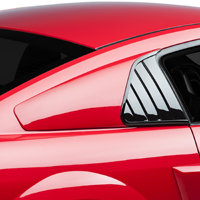 Cervini's Quarter Window Covers - Unpainted (05-14 All)