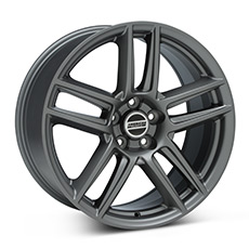 Charcoal Boss Laguna Seca Style Wheels (2010-2014)