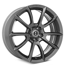 Charcoal Shelby Alcoa Style Wheels (2010-2014)