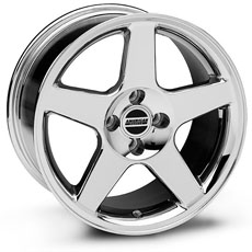 Chrome 2003 Cobra Wheel (79-93)