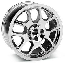 Chrome 2007 GT500 Wheels (79-93)