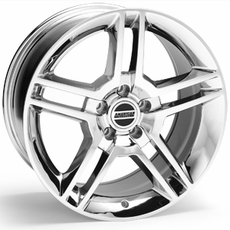 Chrome 2010 GT500 Style Wheels (05-09)