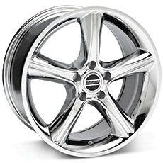 Chrome 2010 GT Premium Style Wheels (1987-1993 5 Lug Conversion)
