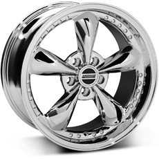 Chrome Bullitt Motorsport Wheels (99-04)