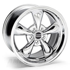 Chrome Bullitt Wheels (10-14)