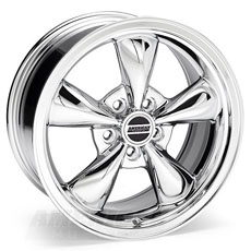 Chrome Bullitt Wheels (94-98)