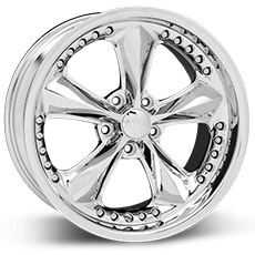 Chrome Foose Nitrous Wheels (99-04)