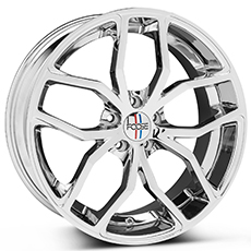 Chrome Foose Outcast Wheels (2005-2009)