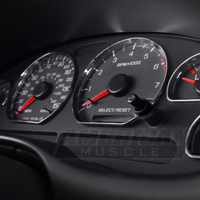 Chrome Gauge Ring Bezels (94-04 All)