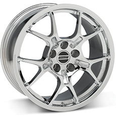 Chrome GT4 Wheels (1987-1993 5 Lug Conversion)
