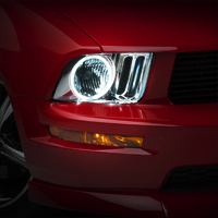 Chrome Headlights - CCFL Halo (05-09 GT, V6)