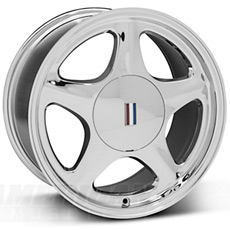 Chrome Pony Wheels (1999-2004)