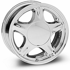 Chrome Pony Wheels (79-93)