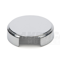Chrome Radiator Reservoir Cap Cover (86-89 5.0L)