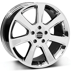 Chrome S197 Saleen Style Wheels (1987-1993 5 Lug Conversion)