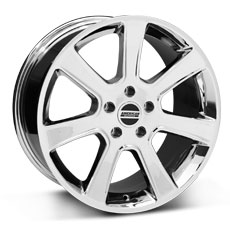 Chrome S197 Saleen Style Wheels (2005-2009)