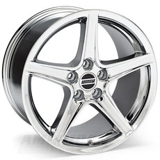 Chrome Saleen Style Wheels (10-14)