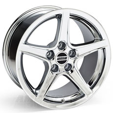 Chrome Saleen Style Wheels (99-04)