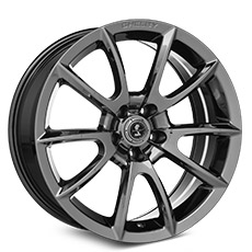 Chrome Shelby Alcoa Style Wheels (2010-2014)